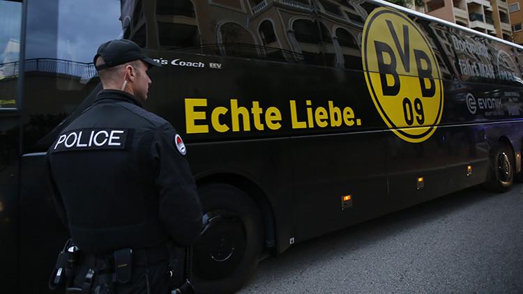 Detienen a un germanorruso sospechoso de haber atacado al bus del Dortmund para enriquecerse