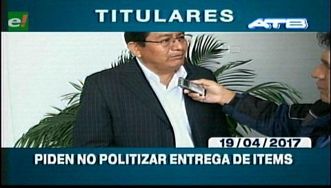 Video titulares de noticias de TV – Bolivia, mediodía del miércoles 19 de abril de 2017