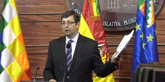 Senador Ortiz: Acaban las dudas de que Achá es corresponsable de irregular compra de taladros