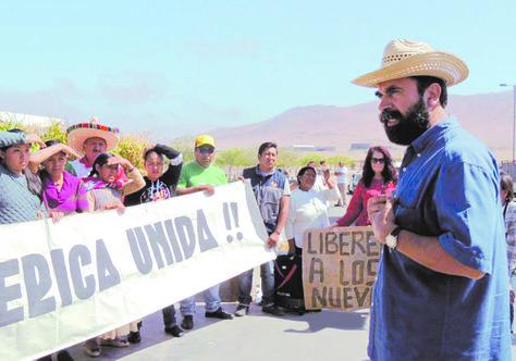 Chile acepta recurso de liberación de bolivianos detenidos