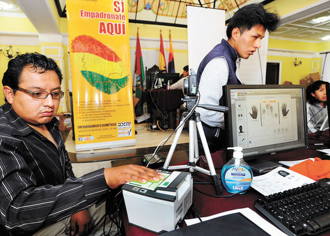 El Tribunal Supremo Electoral anuncia el inicio de auditoría al padrón electoral