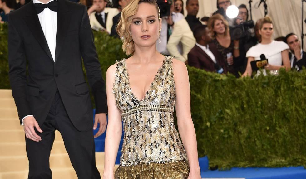 Brie Larson en la última gala del Met.