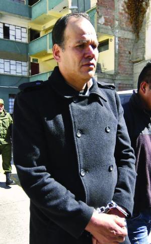 Supuesto líder terrorista va de nuevo a la cárcel de San Pedro