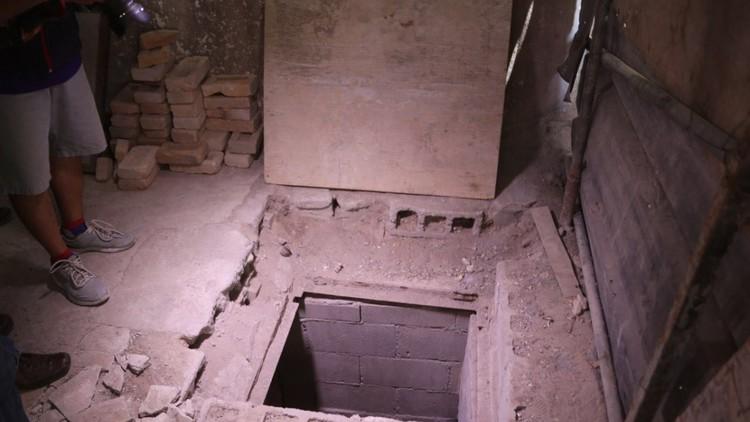 México: Descubren un túnel al estilo de 'El Chapo' en Tamaulipas (VIDEO)
