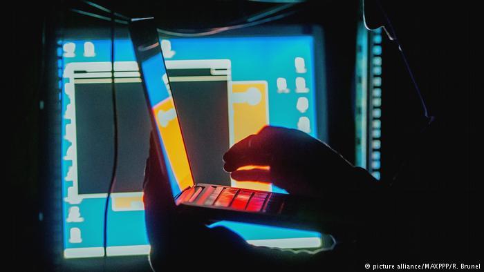 Symbolbild Cyberattacke (picture alliance/MAXPPP/R. Brunel)