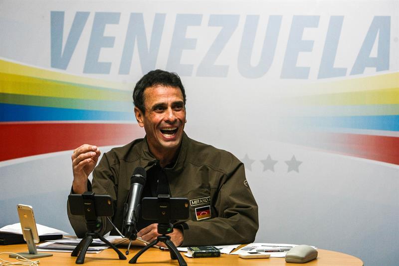 El gobernador del estado Miranda, Henrique Capriles (Foto: EFE)