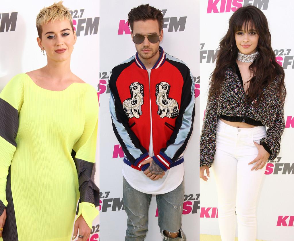 Katy Perry, Liam Payne, Camila Cabello