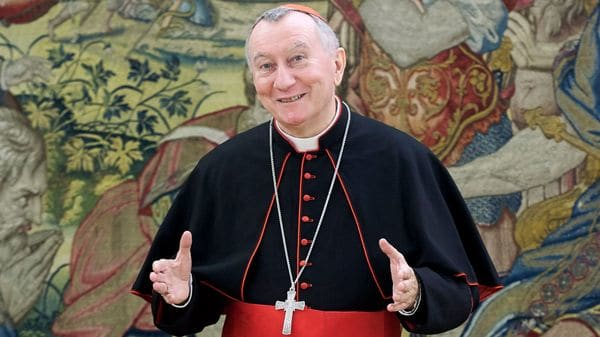 Pietro Parolin, secretario de Estado del Vaticano (Getty)