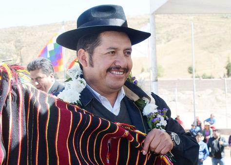 Esteban Urquizu, gobernador de Chuquisaca.