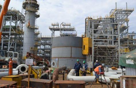 La planta de Bulo Bulo que fabricará urea y amoniaco a partir de gas en Cochabamba.