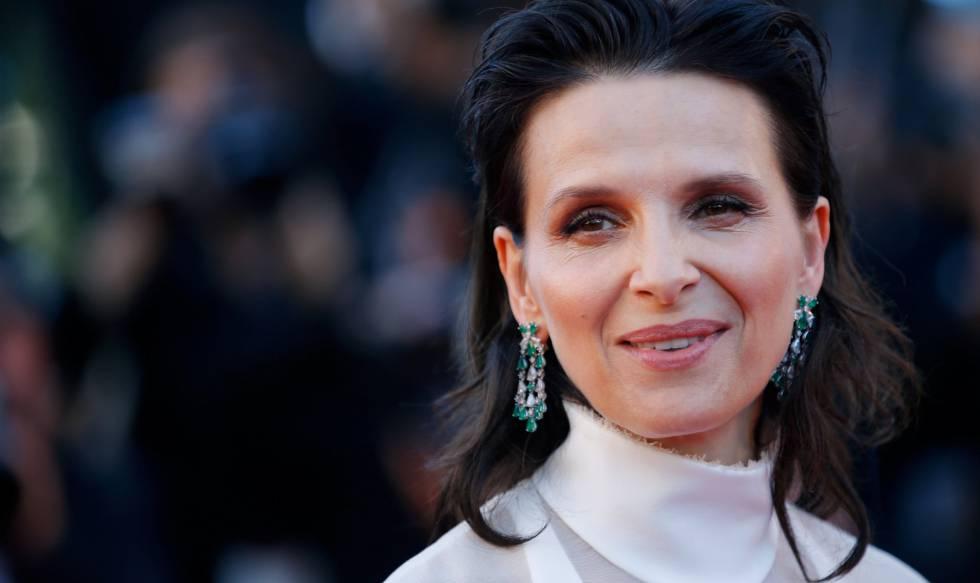 La actriz Juliette Binoche, en el fesival de Cannes.