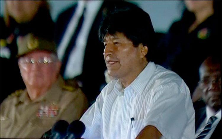 """Resultado de imagen de Morales destaca el """"internacionalismo"""" de Cuba"""