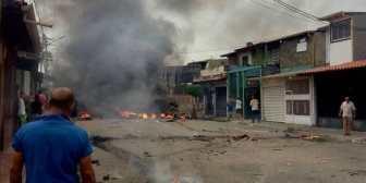 Incendiaron la casa natal de Hugo Chávez en Barinas