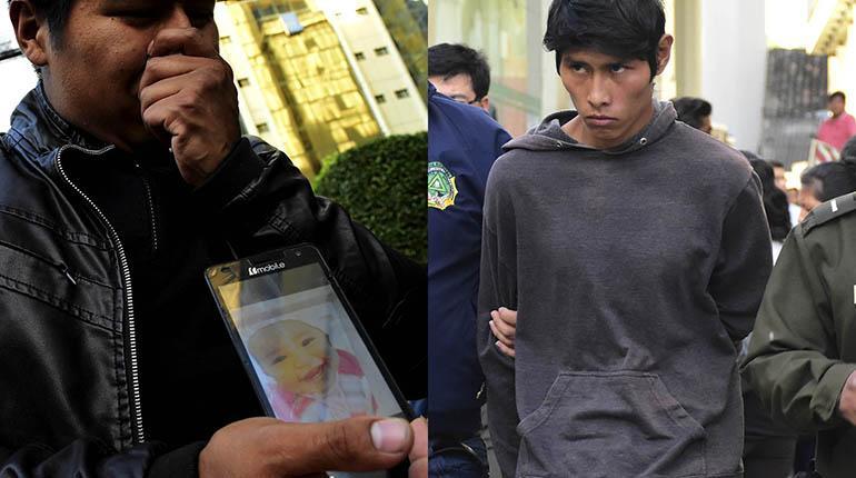 Encarcelan a padre e hijo por el brutal asesinato de Nadia; la pequeña de 1 año y 9 meses habría sido violada