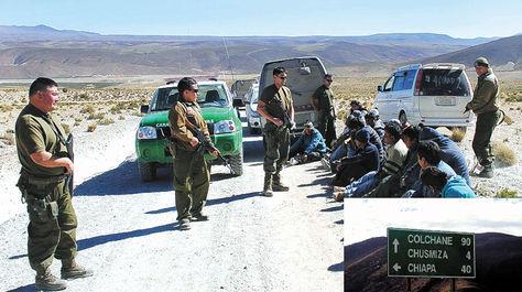 La Fiscalía chilena y defensa de nueve bolivianos presos analizan juicio abreviado