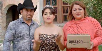 La quinceañera mexicana Rubí Ibarra forma parte de la última campaña de Amazon