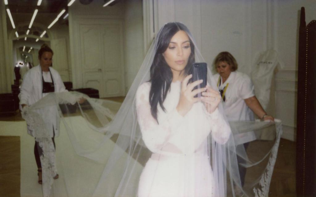 Kim Kardashian, Kanye West, Anniversary