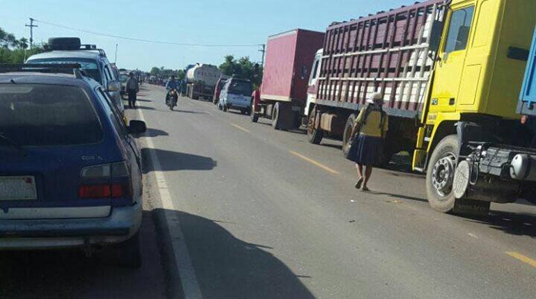 Resultado de imagen de carreteras pide a transportistas de la Chiquitanía suspender bloqueo