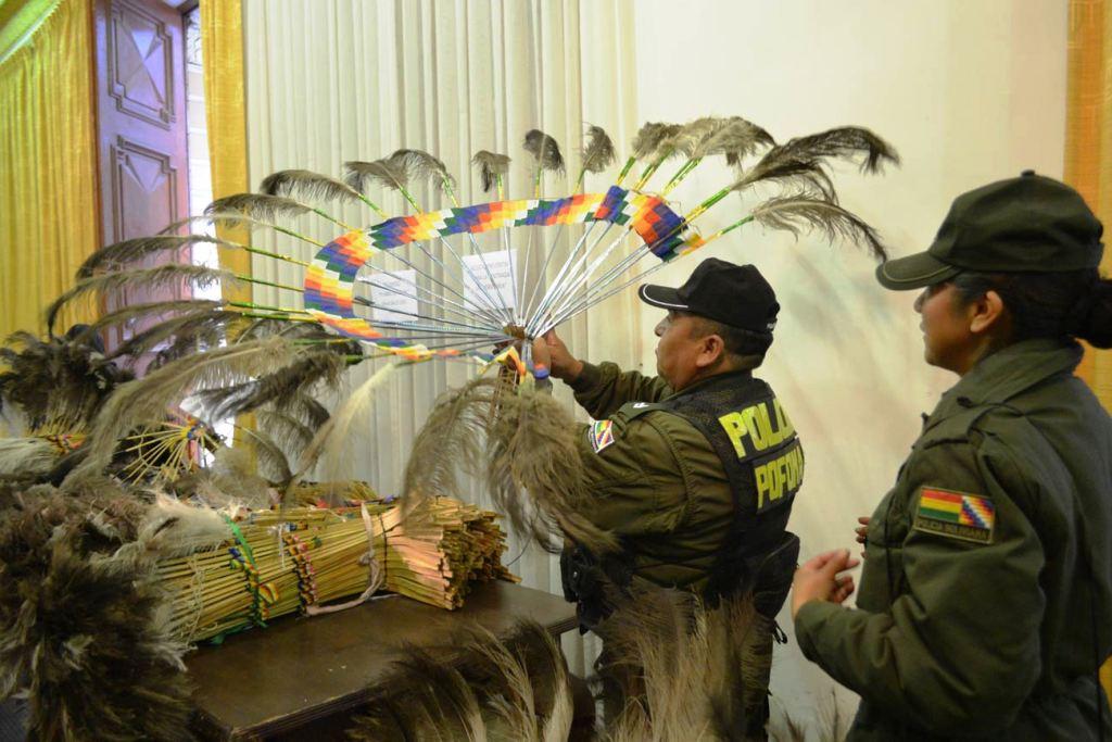 Resultado de imagen de Policía Forestal y Preservación del Medio Ambiente de Beni celebra primer aniversario