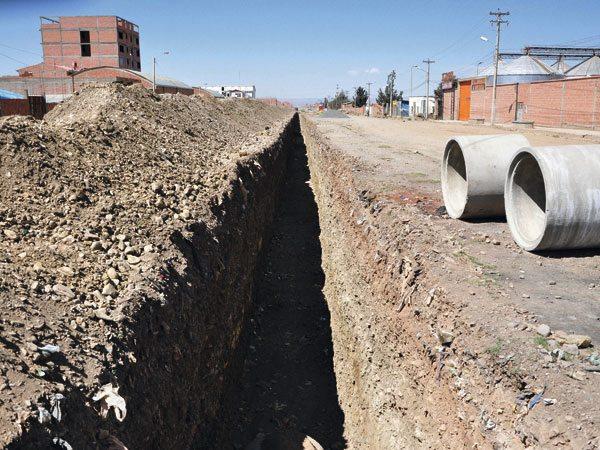 Resultado de imagen de Servicio de Alcantarillado de Oruro