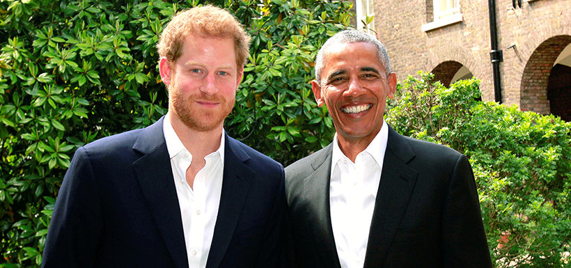 Obama recuerda a las víctimas de Manchester en una visita al príncipe Harry