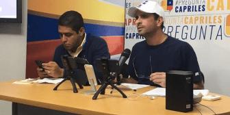 Capriles llamó a incrementar presión constitucional a partir de este lunes