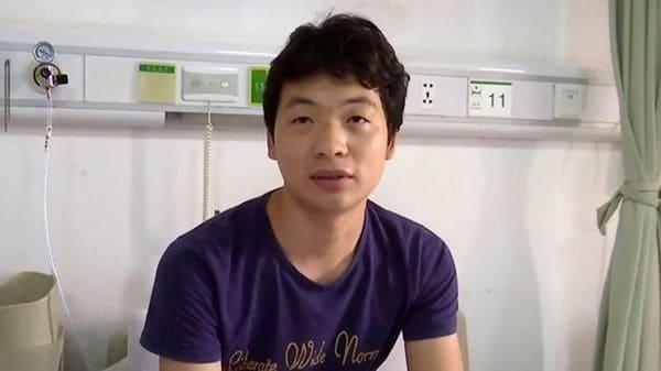 Wang vivió 20 años con ataques de tos sin imaginar su origen
