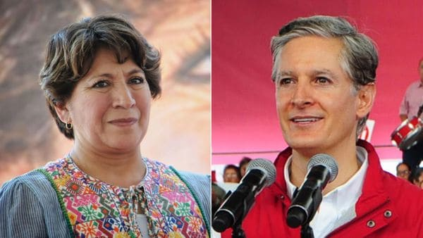 La candidata opositora Delfina Gómez y el oficialista Alfredo del Mazo Maza pelean cabeza a cabeza la elección del domingo 4 de junio en el Estado de México