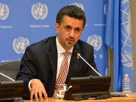 Sacha Llorenti, embajador de Bolivia ante la ONU.