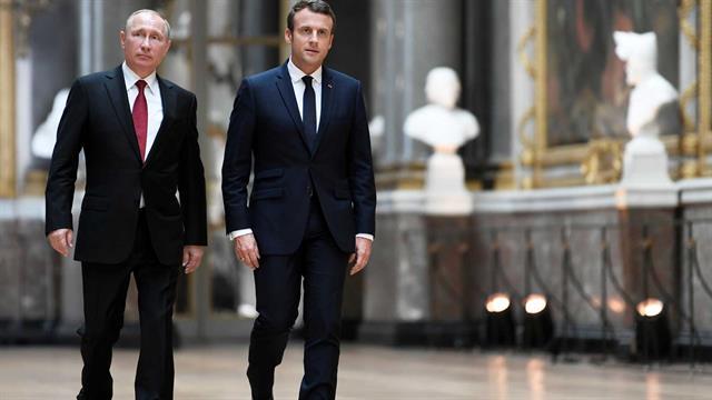 Emmanuel Macron, el más clásico de todos y el más lookeado también