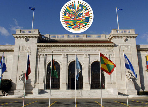 La sede de la Organización de Países Americanos (OEA). Foto: canalantigua.tv