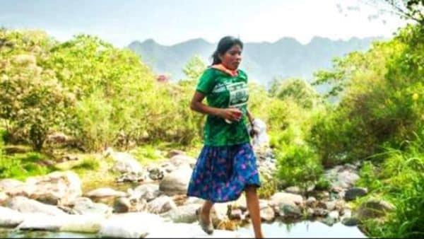 Lorena Ramírez ganó el Ultratrail de 50 km de Puebla en abril pasado