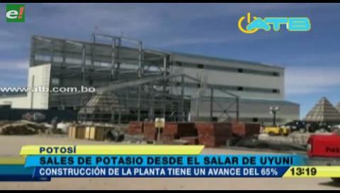Camc construye una planta de sales de potasio en el Salar de Uyuni
