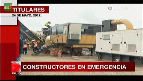 Video titulares de noticias de TV – Bolivia, noche del miércoles 24 de mayo de 2017