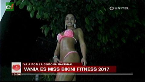 Exreina del carnaval montereño es Miss Bikini Fitness 2017