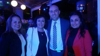 Ada fernandez, Ma. del Carmen Navarro, Mario Aguirre y Georgina Helguero
