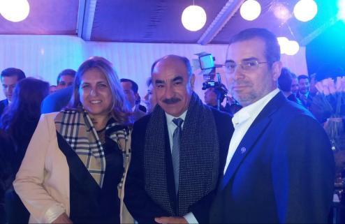 Monica Vera, Luis Fernando Arias y Mario Camargo