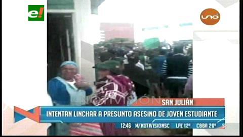 San Julián: Pobladores intentan linchar a un supuesto asesino