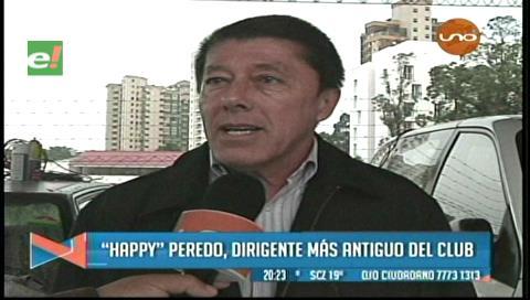 """""""Happy"""" Peredo cree que el egoísmo entre dirigentes no permite la unidad en Blooming"""