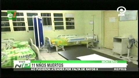 Crisis en el Hospital de Niños de Montero: 11 niños mueren en lo que va el 2017