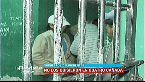 En Cuatro Cañadas no permitieron que acusados de asesinato se queden
