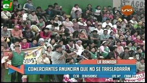 Marcha de gremiales de La Ramada termina en un cabildo, rechazan su traslado