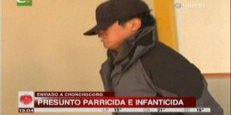 Envían a Chonchocoro al acusado de matar a su madre y su hermanastro