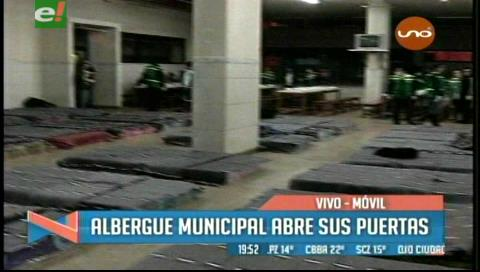 Santa Cruz: Albergue municipal abrió sus puertas en la ex terminal