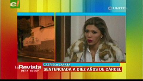 Zapata fue trasladada al penal de Miraflores tras dictamen de su sentencia