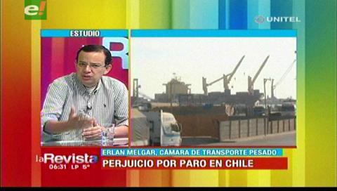 Transporte pesado afirma que en Chile los obreros no respetan el tratado con Bolivia