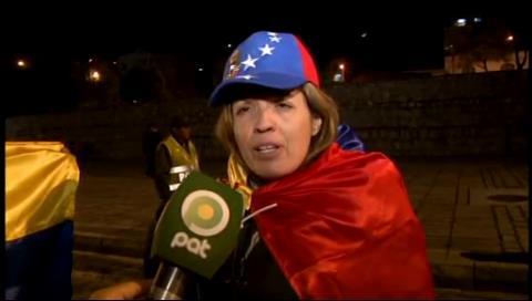 Venezolana en Bolivia: Defienden a Maduro porque no han vivido en mi país
