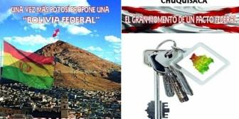 Presentan en la FIL Santa Cruz dos obras sobre el federalismo