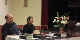 César Herrera presentó su nueva novela