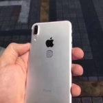 iPhone 8 con Touch ID en la parte trasera